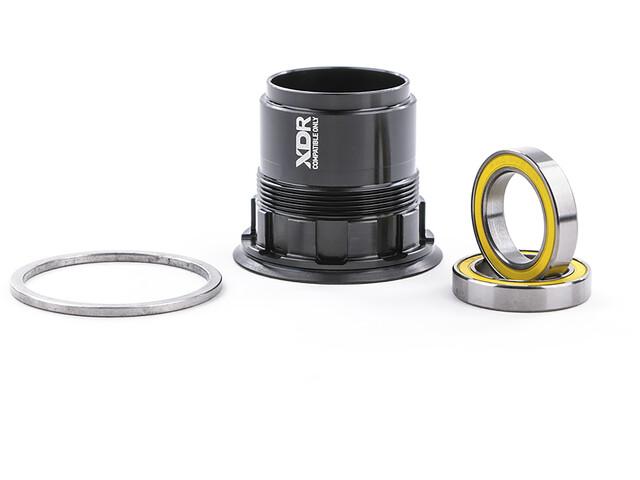 NEWMEN SRAM XDR Vrijwiel incl. lager, black anodizing